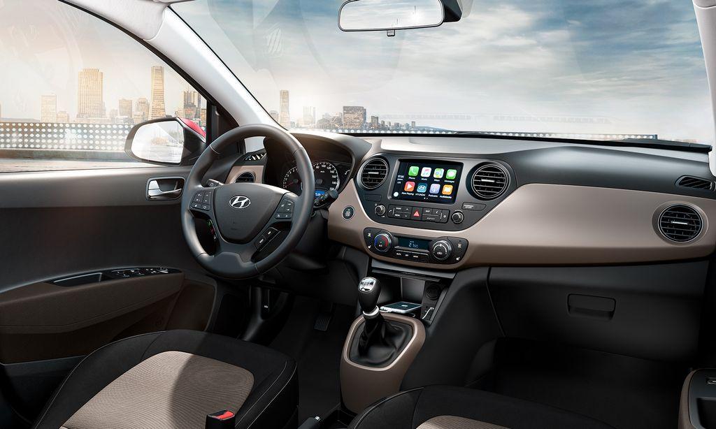 2017 Hyundai Xcent Facelift interior
