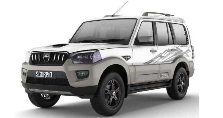 Mahindra Limited Edition Scorpio Adventure
