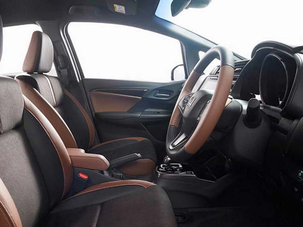 new hona jazz interior