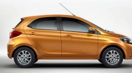 all-electric Tata Tiago