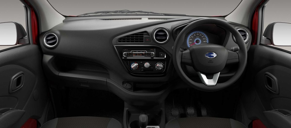 datsun ready go interior
