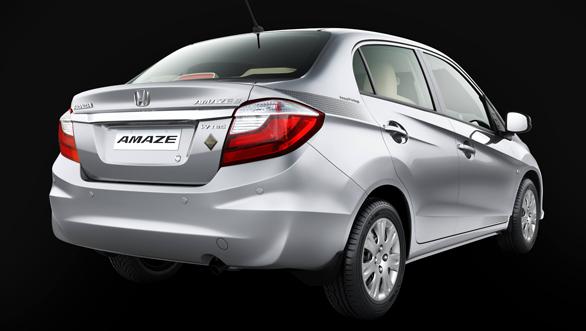 Honda amaze privilege edition exterior