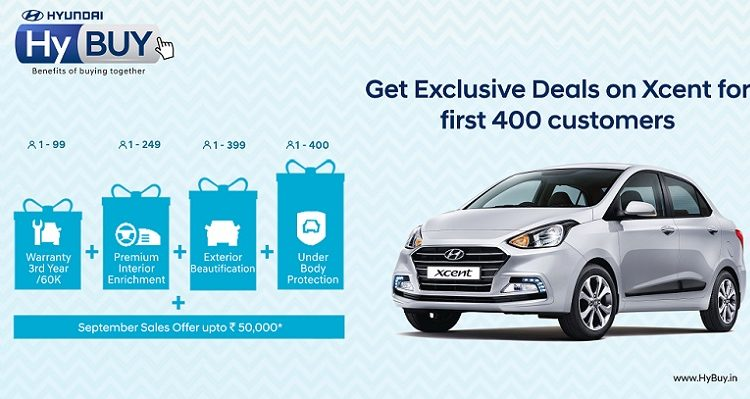 Hyundai Now Opens Online Buying Experience 'HyBUY' for XCENT Customers
