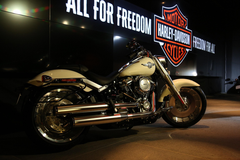 Harley Davidson Softail range 2018