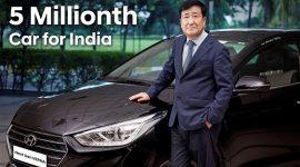 5 Millionth Car Milestone