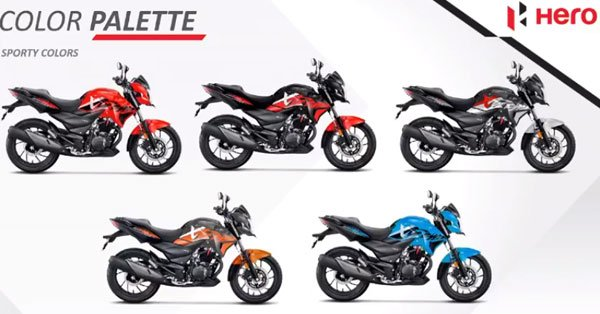 Hero Xtreme 200R Colors