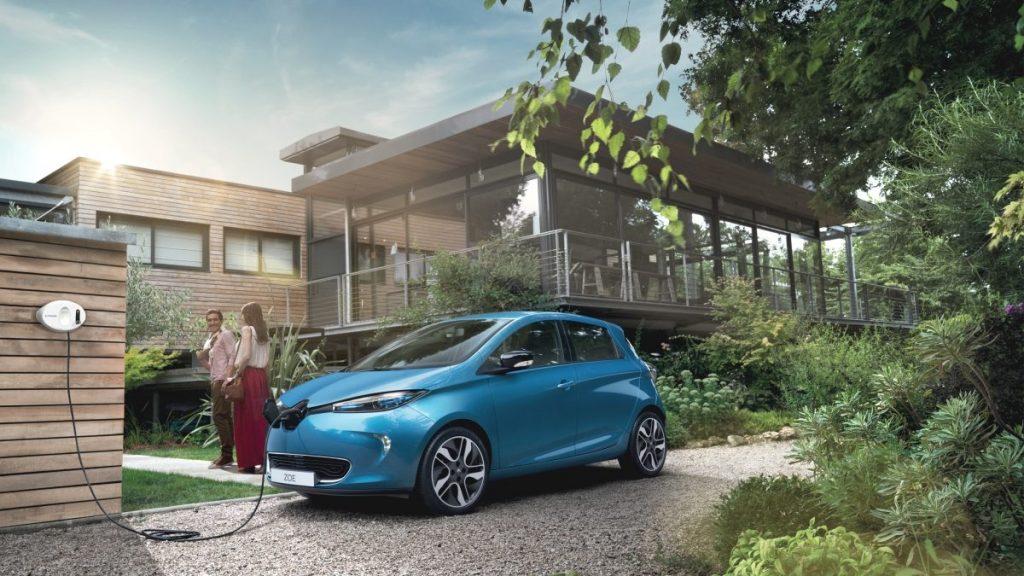 Renault Unveils Zoe EV