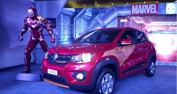 Kwid Superhero Edition