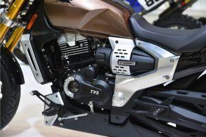 TVS Zeppelin Cruiser Motorcycle