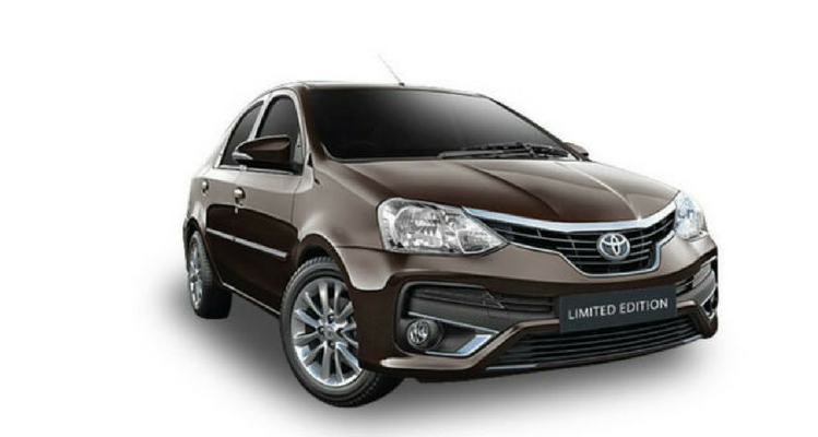 Toyota Etios Platinum Limited Edition
