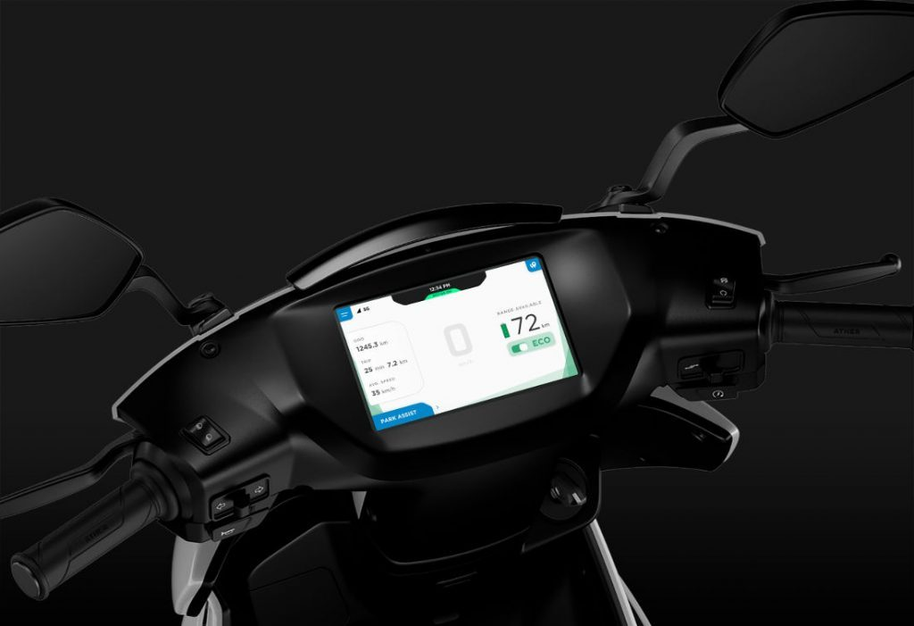 Ather 450 Dashboard