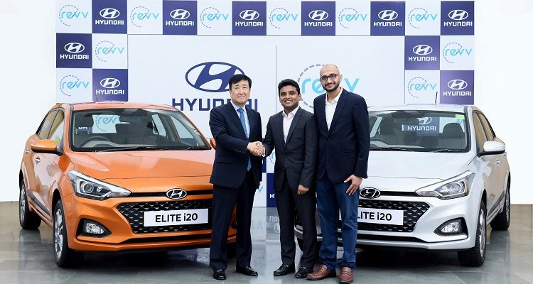 Hyundai Motor Announces Investment In Mobility Service Provider, Revv