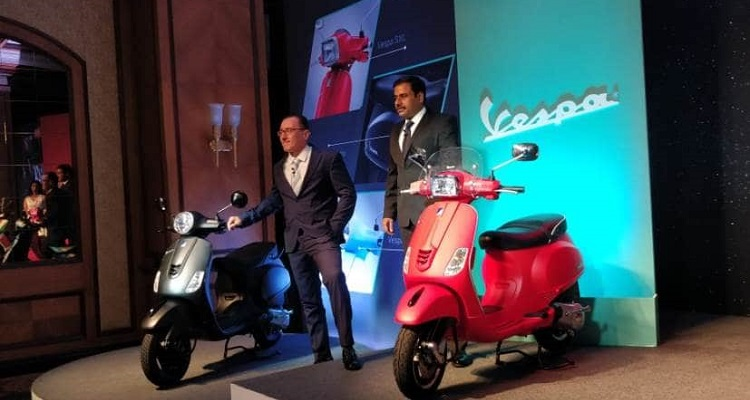 Piaggio Launches 2019 Range of Vespa At Starting Price of Rs. 91,140