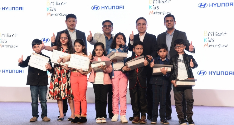Hyundai Motor India unveils India's First and Most Unique 'Brilliant Kids Motor Show 2018'