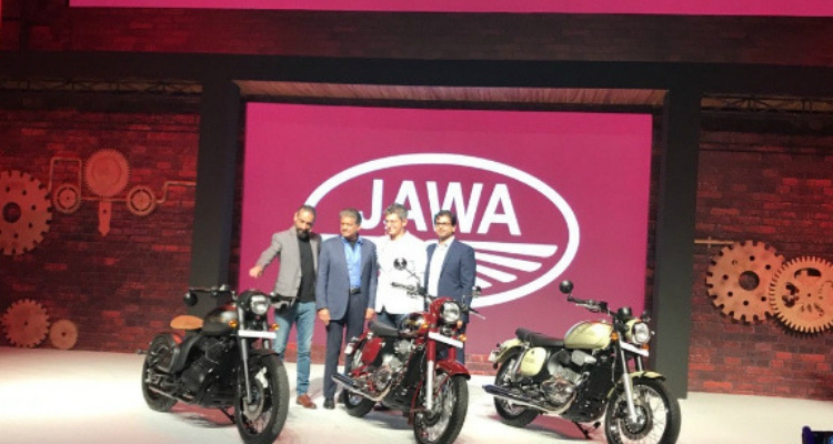 Jawa Motorcycles Launched In India At Starting Price of Rs. 1.55 Lakh