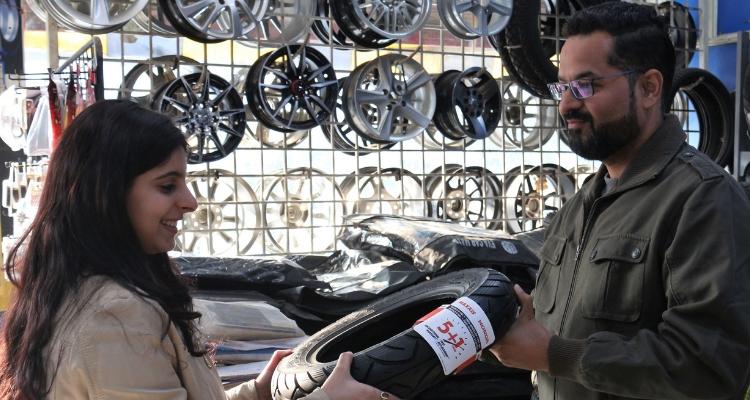 Maxxis Honda Partnership