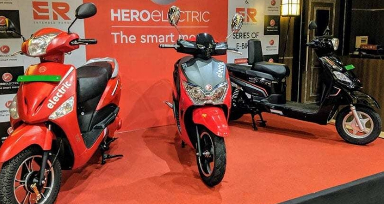 Hero Dash Electric Scooter