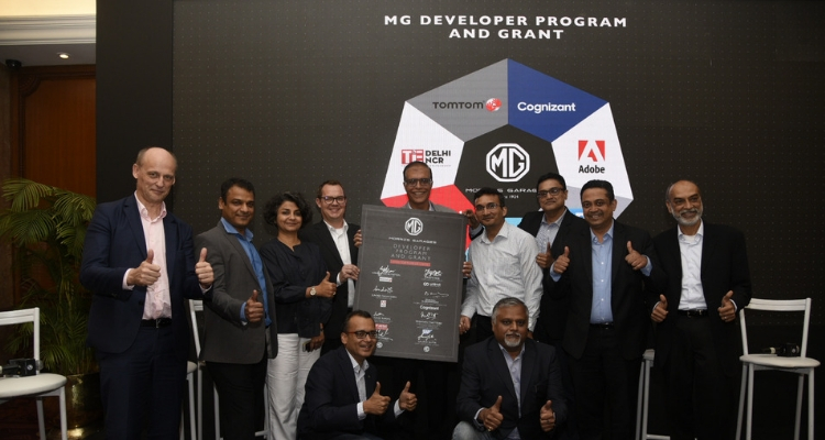 MG Motor India launches Developer Program and Grant to create mobility solutions