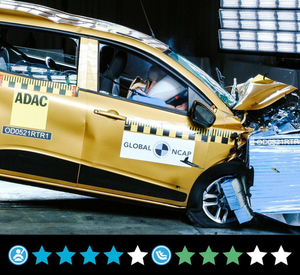 car crash tests: Global NCAP
