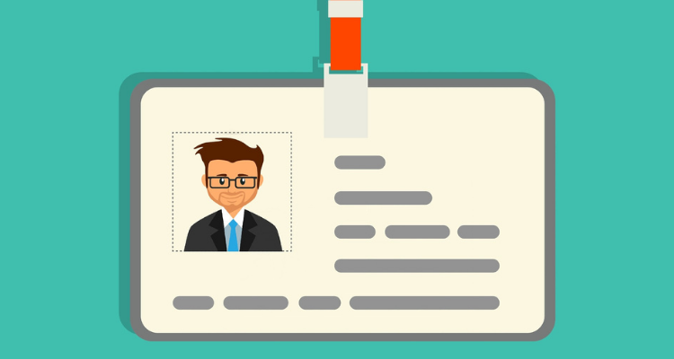 Animated picture of a driving license