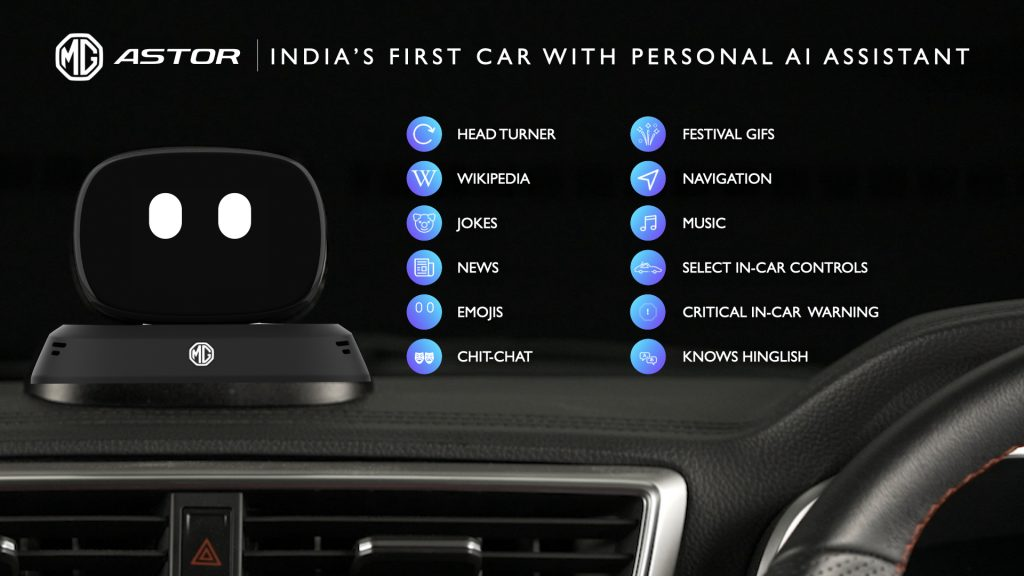 Astor SUV with India's First Personal AI Assistant